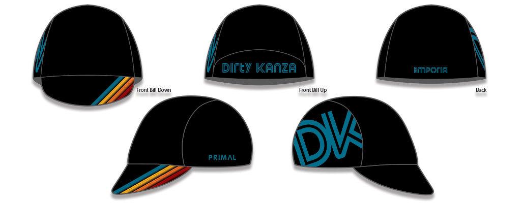 Dirty Kanza 2018 Kit Cycling Cap