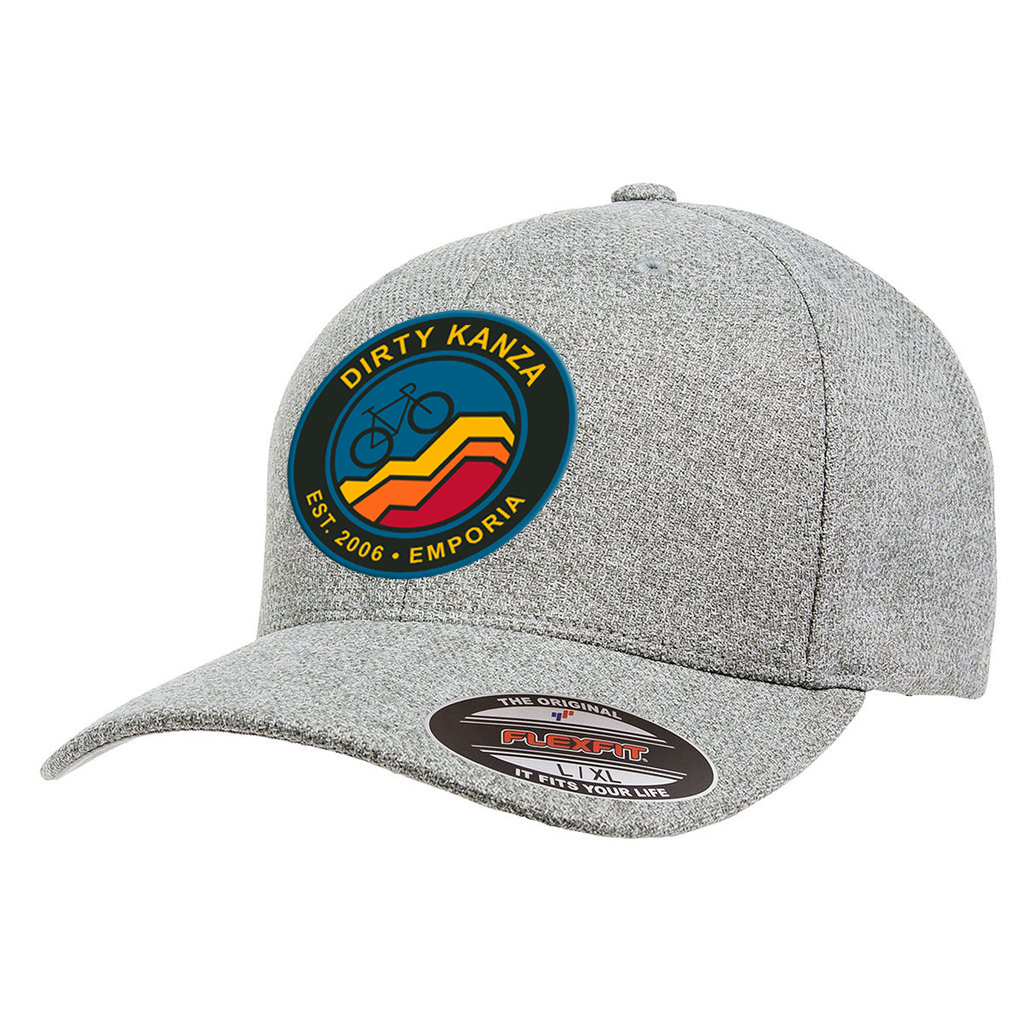 Dirty Kanza 2018 Hat Color Logo