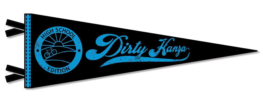 Dirty Kanza 2018 High School Pennant