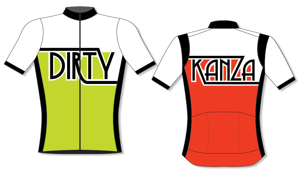 Dirty Kanza 2018 Jersey Proof 2