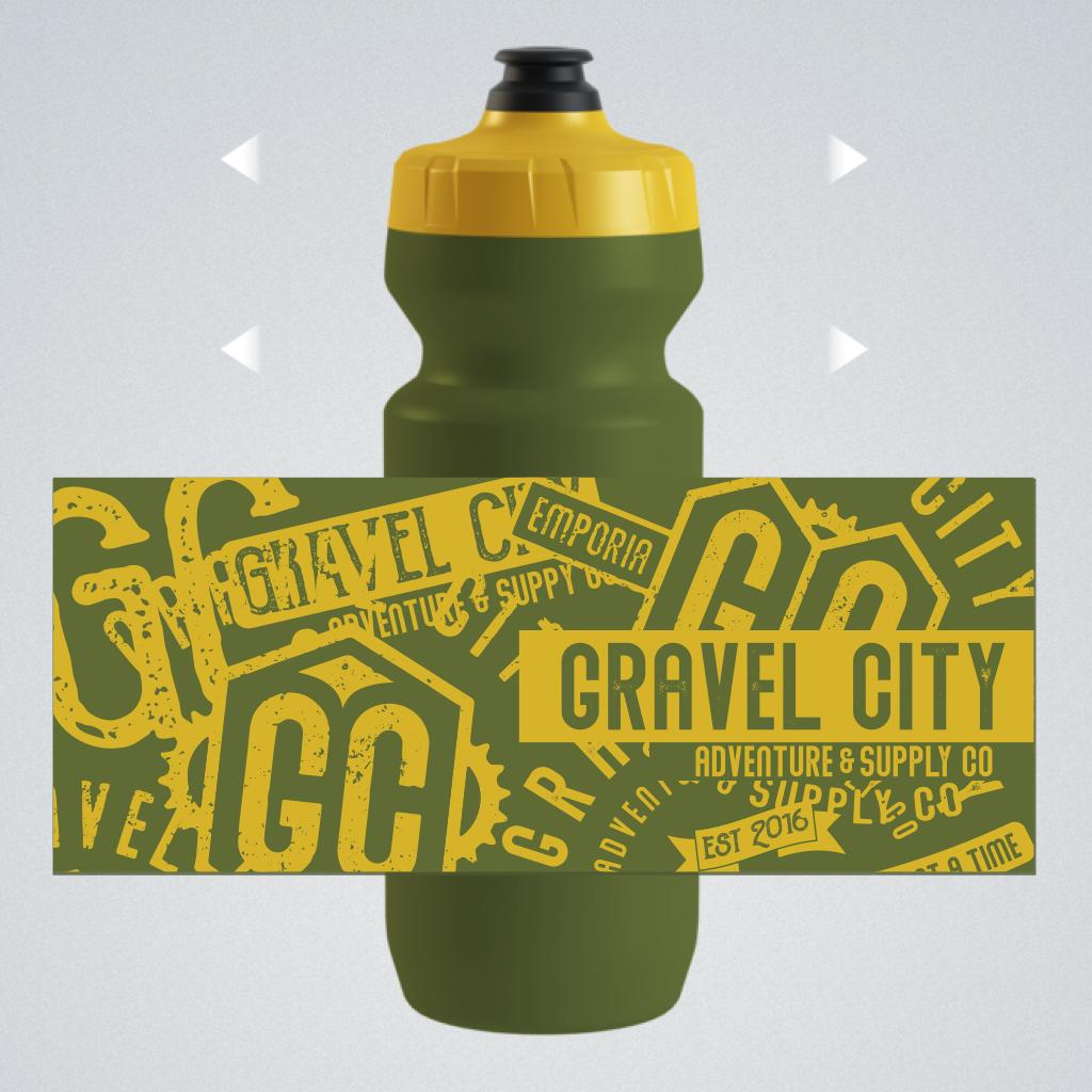 Gravel City Water Bottle