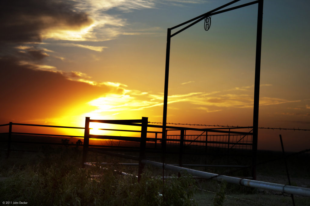 Sunset at Ranch Photography