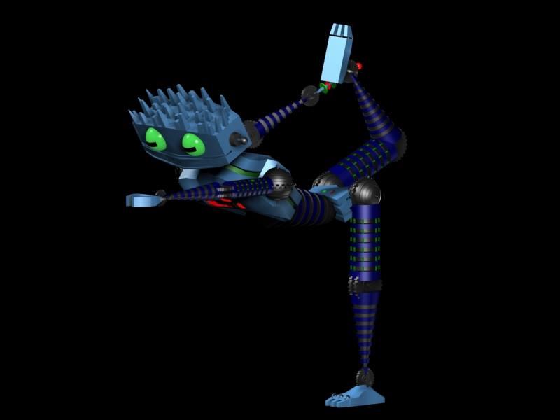 3d robot yoga 1