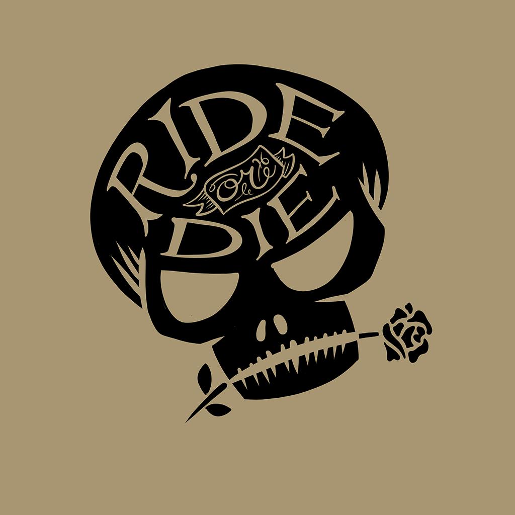 digital drawing ride or die